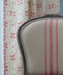 Upholstery and curtains by Pippa Blacker Interiors